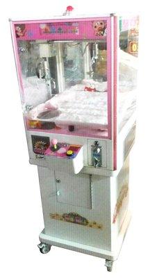 暑假 七夕 午馬136 中古迷你娃娃機 抓娃娃機 可愛白色夾娃娃機 員工休息室 活動宣傳 機台租賃 買賣 長租 陽昇國際
