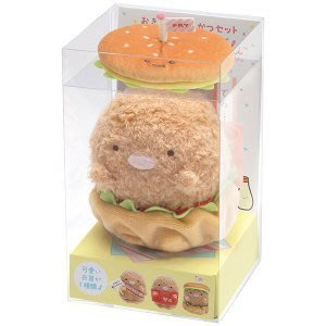 4165本通 SG 角落生物 豬排漢堡可變裝公仔 絨毛娃娃 4974413760850下標前請詢問