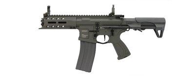 華山玩具 G&G 怪怪 M4 ARP 556 M-LOK 5 三發點放 電子板機 電動槍 灰黑色