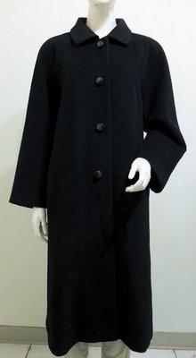 日本製【PARAPHRASE】黑色 純羊毛內含50%Angola安哥拉 長大衣外套~直購價1290~🏆12/16