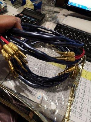 美國WIRE WORLD Luna16/4喇叭線 3米一對,參考價5200