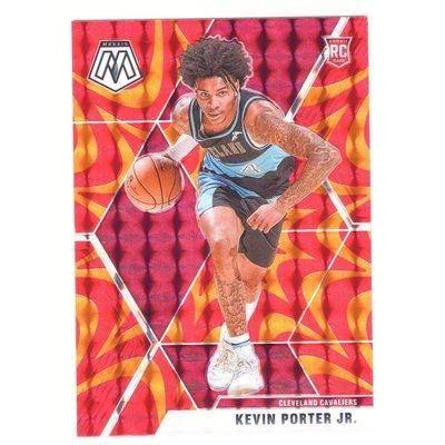 騎士未來 Kevin Porter Jr. / Mosaic Orange&Red Reactive Rookie系列新人RC金屬卡 2019-20