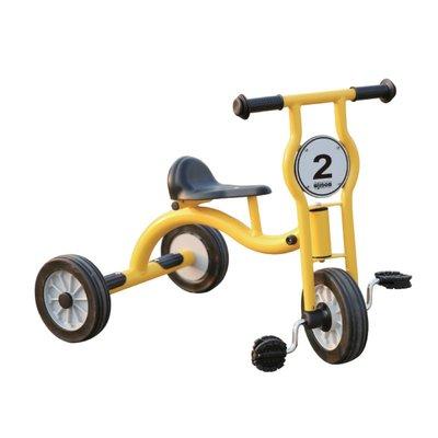 【晴晴百寶盒】台灣品牌 威力三輪車-中號 WISDOM 學步車 尋寶遊戲 教具益智遊戲 環保無毒玩具 遊戲 W931