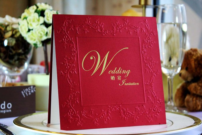 『潘朵菈精緻婚卡』※簡約時尚創意婚卡※【SP系列14元喜帖】喜帖編號:SP-2822