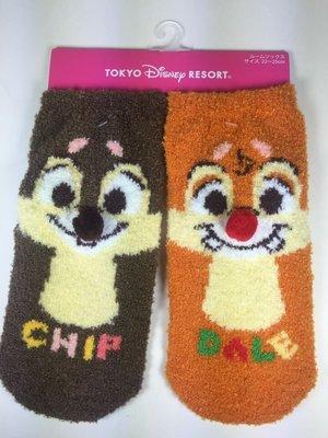東京家族 東京迪斯尼樂園限定 奇奇 蒂蒂 襪子日本帶回