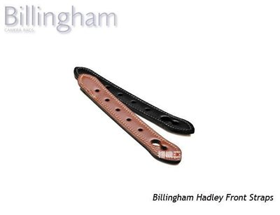 ☆相機王☆精品Billingham Hadley Front Straps 更換用皮帶﹝白金漢﹞黑色 (3)