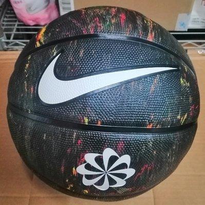 NIKE籃球 (N100247797307)REVIVAL DOMINATE 7號球 風車圖案 耐磨 正品附籃網球針P3