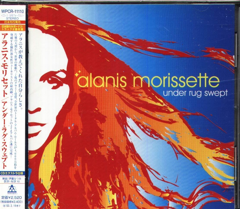 K - Alanis Morissette - UNDER RUG SWEPT - 日版 +2BONUS+OBI