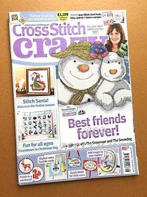 紅柿子【英文彩色版•Cross Stitch crazy 十字繡作品集 ISSUE 208】全新•特售50元•