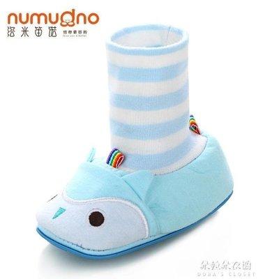 ZIHOPE 學步鞋不掉嬰兒鞋春秋0-1歲男女寶寶鞋學步6-12個月9透氣棉布軟底步前鞋ZI812