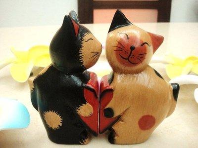 Y【永晴峇里島】巴里島愛心小貓吊飾/擺飾/公仔,居家、民宿、飯店都好用-擺飾6