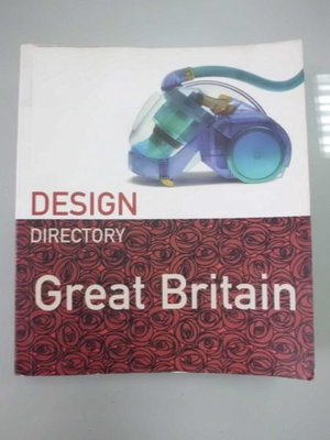 A2☆2001年『DESIGN DIRECTORY    GREAT  BRITAIN』Penny Sparke著《PAVILION  BOOKS》