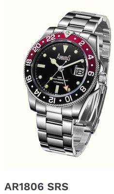 愛彼特 ARBUTUS NEW YORK AR1806 雙時區機械錶