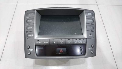 【冠亦汽車】LEXUS IS250 日規原廠 音響主機 冷氣面板 時鐘