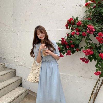 【ZEU'S】夏日甜美清新長洋裝『 04120625 』【現+預】D