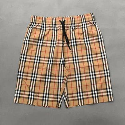 歐美 激似burberry格紋 短褲 無品牌 嘻哈 饒舌 HIP HOP 尺寸S~XXL