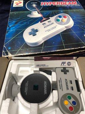 任天堂 超級任天堂 Konami 科拿米 原廠無線手把 希少美品台灣製