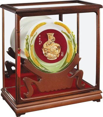 ~【平安興隆】立體純金箔櫥窗禮盒~1555ABOX-01~巧匠家具批發廣場~