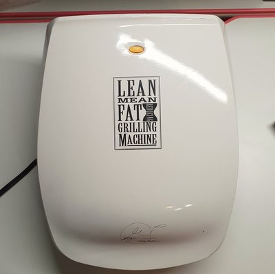 LEAN MEAN FAT REDUCING GRILLING MACHINE GR-20 雙面 電烤盤 烤牛排.蝦.魚