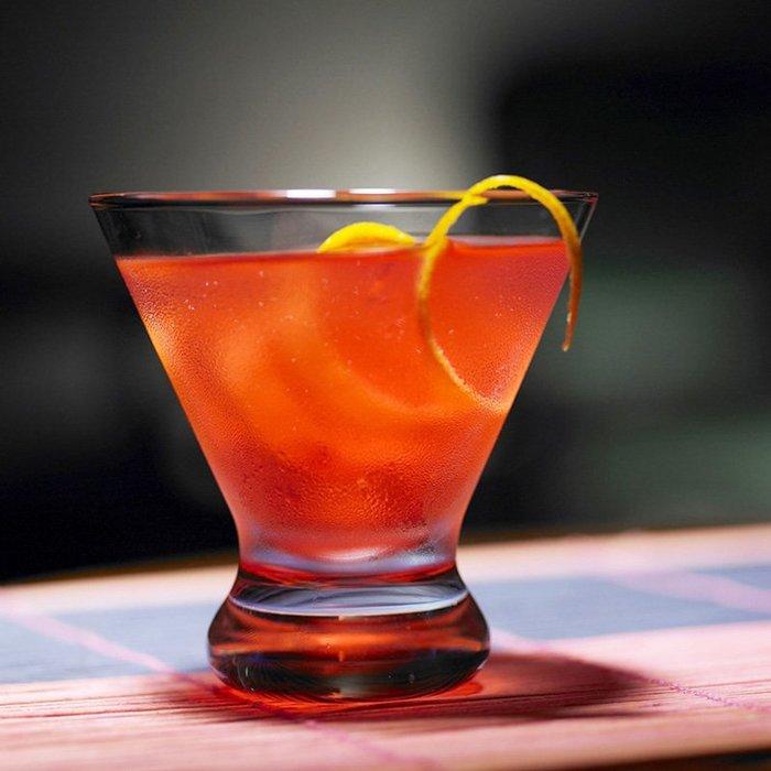 聚吉小屋 #高腳玻璃杯雪糕杯冰激凌杯甜品杯 馬天尼杯雞尾酒杯大都會系列杯