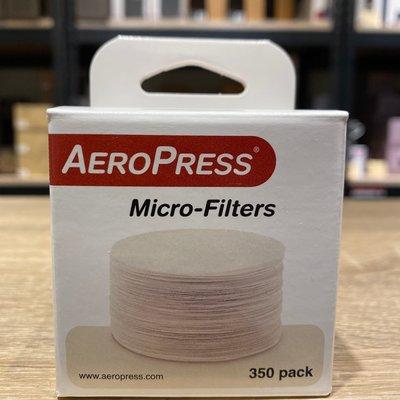 【沐湛咖啡】AeroPress 愛樂壓 100%美國製造 原裝進口專用特殊濾紙補充包/ 350張入 新北市