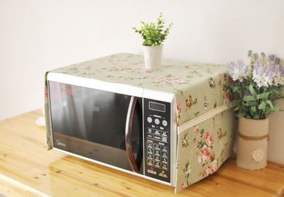 【#068 戀戀玫瑰】宅優物♥微波爐蓋巾♥烤箱防塵罩♥防塵布♥蓋布