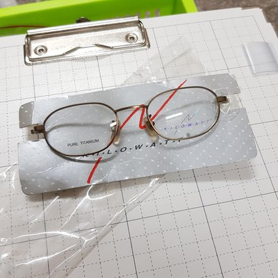 KILOWATT 高級鏡框 舒適超輕量 PURE TITANIUM 鈦金屬 純鈦眼鏡框