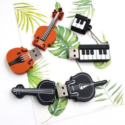 隨身碟USB32G 樂器造型 吉他可愛小提琴鋼琴麥克風風琴電吉他隨身碟_☆找好物FINDGOOD
