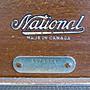 {ForeverYoung} 古董木紋四格收銀機 National Cash Register英式古董、歐式老物(預購)