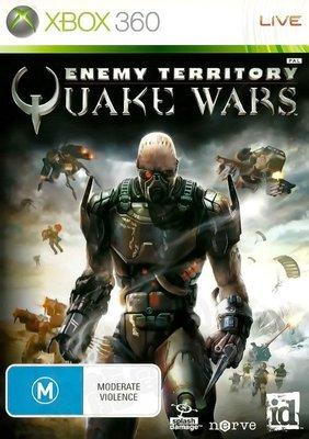 【二手遊戲】XBOX360 雷神之戰 深入敵境 ENEMY TERRITORY QUAKE WARS 英文版 台中恐龍