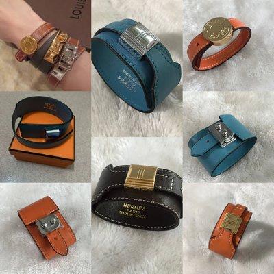 $129 - accessories bangle bracelet H 歐美明星經典 款全真皮 頭層牛皮 真皮 手鐲 手鍊 6款 禮盒包裝 現貨