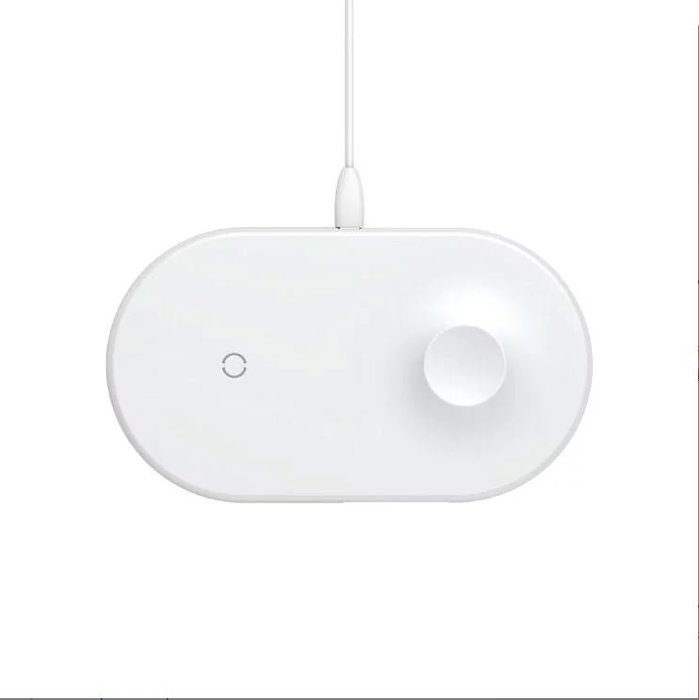 【Love Shop】【Baseus】智能二合一無線充電器(iP+Type-C輸入)