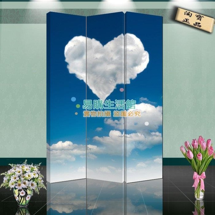 中式時尚家具屏風隔斷玄關家居時尚折屏酒店現代風格231【單扇防水】