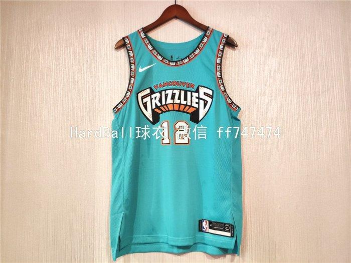 賈·莫蘭特(Ja Morant) NBA曼菲斯灰熊隊 球衣 12號 球員版