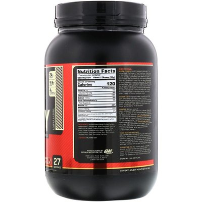 JadeDragon旗艦~美國Optimum Nutrition Gold Standard 全乳清蛋白粉 837g