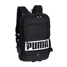 PUMA LOGO 黑色 黑白 多夾層 防潑水 運動 休閒 水壺袋 雙肩 背包 後背包 074706-01 請先詢問庫存