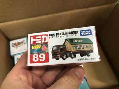 Tomica TOMY CARS 89 ISUZU 拖車屋 玩具 模型車