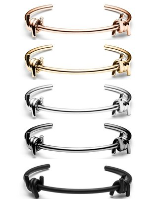 MVMT - DOUBLE  BARBED 雙繩結款 精美 時尚 手環 (玫瑰金 金色 女生 禮物 銀色 黑色)