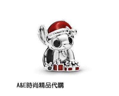 A&E精品代購Pandora 潘朵拉 迪士尼聖誕史迪奇串飾 925純銀 Charms 美國代購