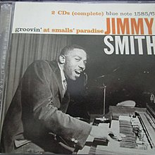 [JAZZ碟] Jimmy Smith - Groovin' at Smalls' Paradise  2CD 歐版  LIVE演唱會