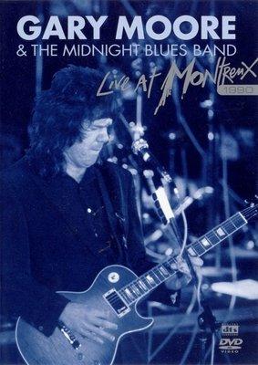 ##藍調 全新進口DVD Gary Moore - Live At Montreux 1990 (+1997)半價