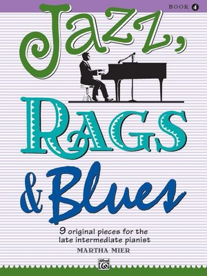 【599免運費】Jazz, Rags & Blues, Book 4  Alfred 00-18770