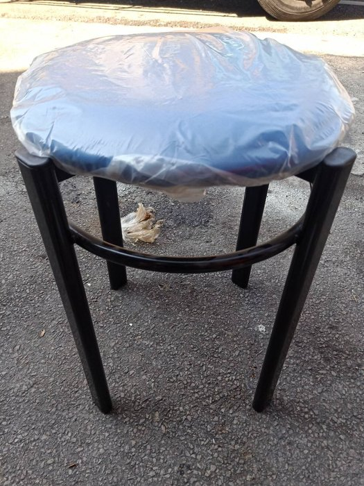 非凡二手家具 全新圓管皮墊圓椅(藍)*矮凳*輔助椅*餐椅*麻將椅*塑膠椅*餐廳椅B333-14