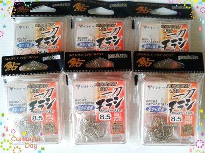 漾釣具~日本製gamakatsu一刀香魚鈎.釣蝦鈎(大包裝)
