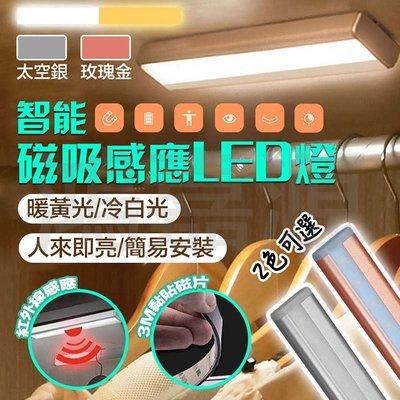 現貨!!智能LED磁吸式薄型紅外線人體感應燈 10顆LED 光控人體紅外感應燈 衣櫃櫥櫃燈 人體紅外線 照明 智能家電