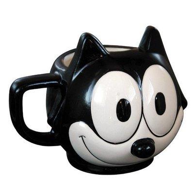 (I LOVE)FELIX Face Mug 菲力貓造型杯子 送禮自用兩相宜