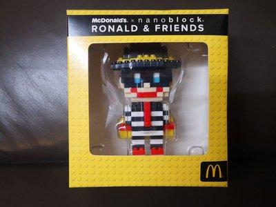 全新 McDonald x nanoblock RONALD & FRIENDS 漢堡神偷