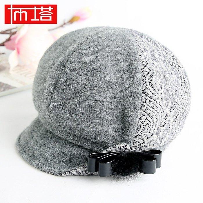2016秋冬新款韓版時尚帽 羊毛帽 休閒帽