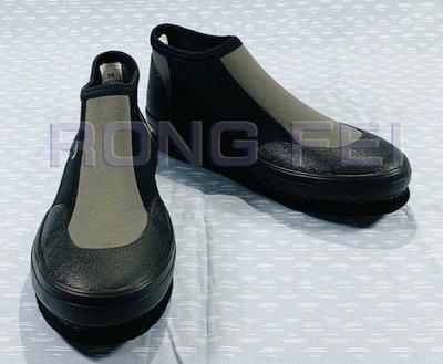 RongFei 台灣製造 3mm潛水布防滑釘鞋 釣魚鞋 磯釣釘鞋 潛水鞋 溯溪鞋 浮潛鞋 另售:雨鞋 雨衣 蛙鞋