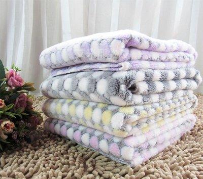 【艾米】法蘭絨寵物毛毯M號 法蘭絨毛毯 /寵物毯/保暖毯/寵物被/寵物窩/寵物用品/寵物床/狗窩/貓窩/貓毯/狗毯